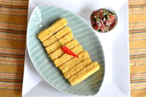 polenta and salsa 2