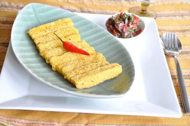 polenta chips how to make