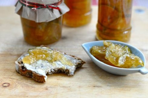 lime and ginger marmalade
