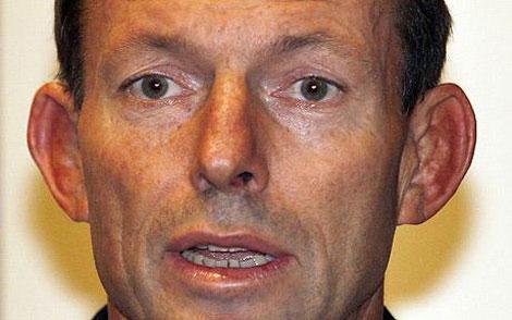 Tony Abbott's ears