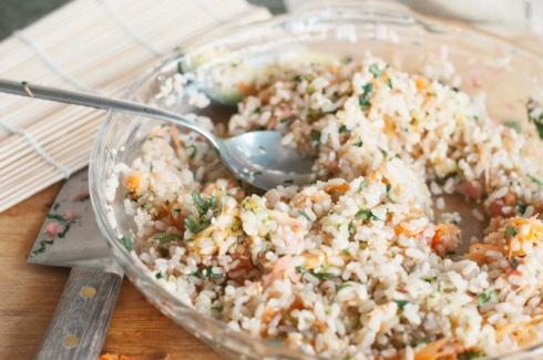brown rice sushi rice mix