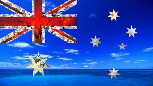 Australian Flag by Emma Constance