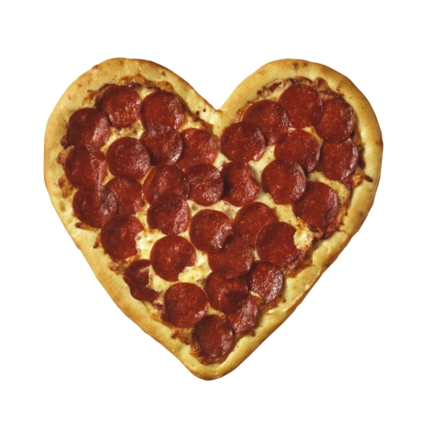 ahhhhh... pizza love. The one true love.